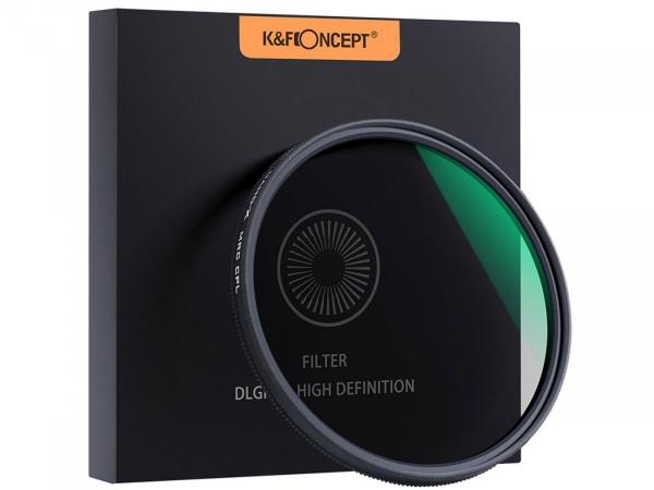 K&F Concept Classic 58MM CPL Filter 18 Layer Super Slim CPL Circular Polarizer Filter