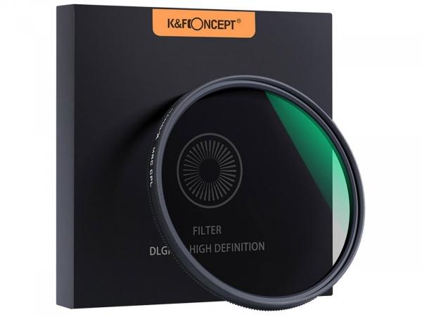 K&F Concept Classic 46MM CPL Circular Polarizer Filter