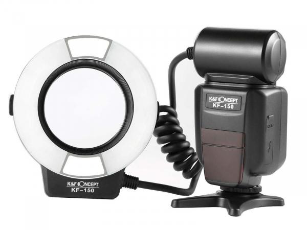 K&F Macro Ring Flash KF-150
