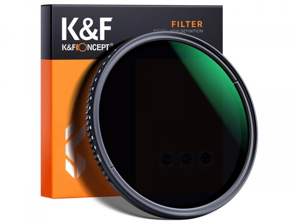 K&F 37mm Variable Fader ND8-ND2000 Filter