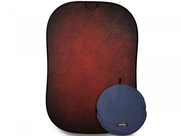 Manfrotto Lighting Control (Vintage) Collapsible 1.5 x 2.1m (5' x 7') Aubergine/Crimson