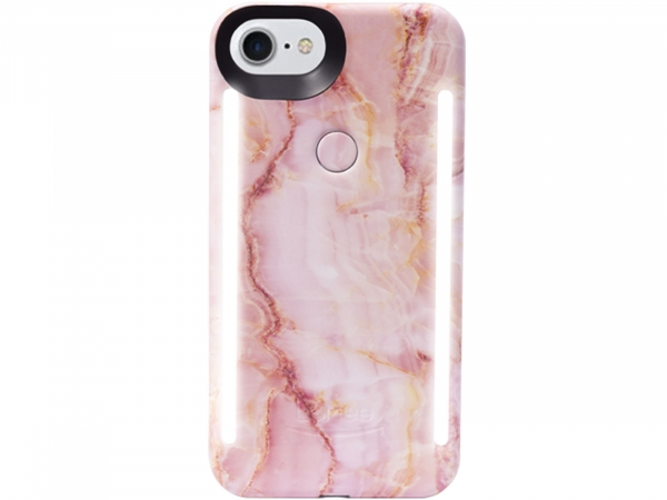 LuMee DUO for iPhone 6,6S,7,8 Collection Black Marble