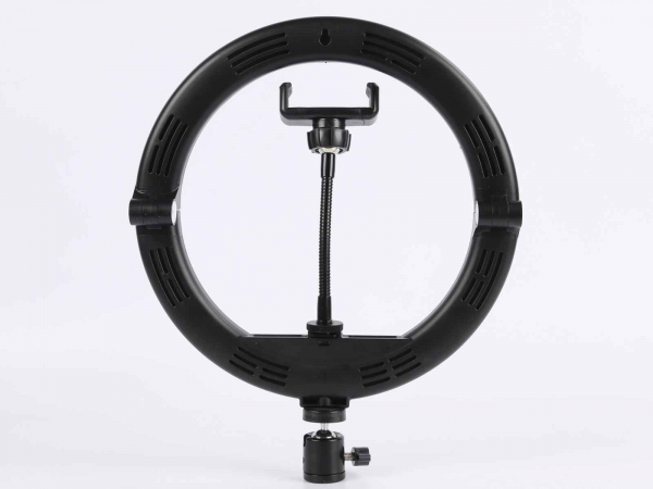 "Camera Centre Mobile Vlogger 10"" Folding LED Ring Light Kit"