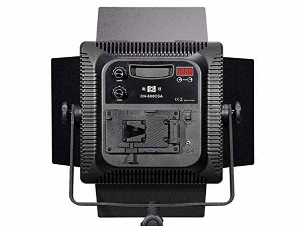 NanGuang CN-600CSA 3Kit  LED Studio Light