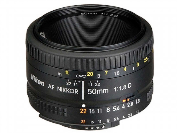Nikon 50mm f/1.8D Manual Focus S/H