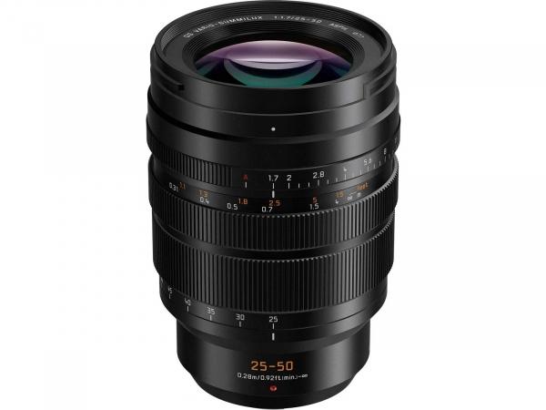 Panasonic 25-50mm F1.7 Leica DG Vario-Summilux ASPH