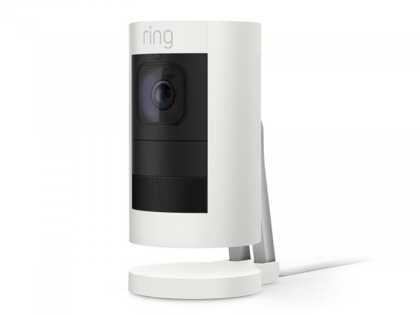 Ring Stick Up Camera Elite Wired – White