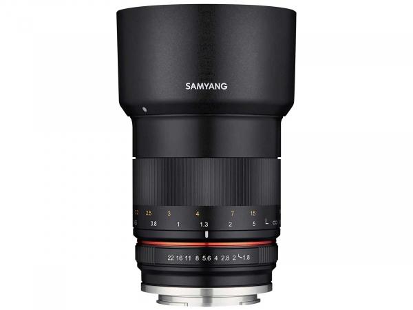 Samyang MF 85mm f/1.8 ED UMC