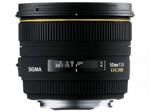 Sigma 50mm F1.4 DG HSM (Nikon Fit)