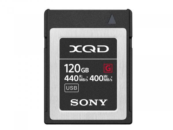 Sony 120GB XQD Flash Memory Card - G Series (Read 440MB/s and Write 400MB/s) QDG