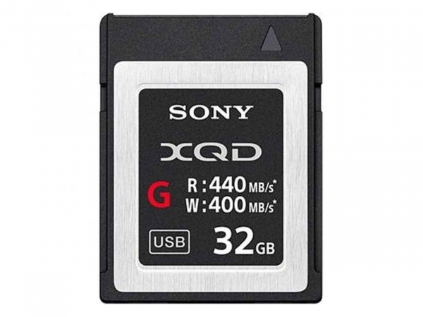 Sony 32GB XQD Flash Memory Card - G Series (Read 440MB/s and Write 400MB/s) QDG