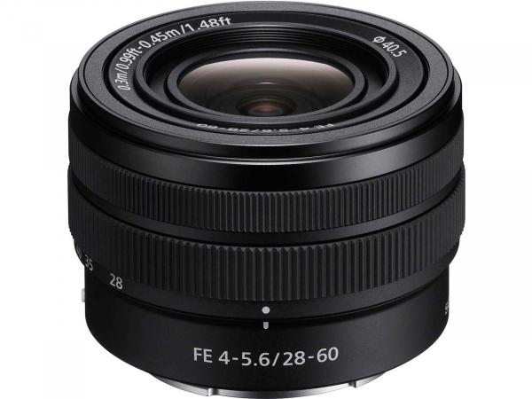 Sony SEL FE 28-60mm F4-5.6 SYX Full-Frame Zoom