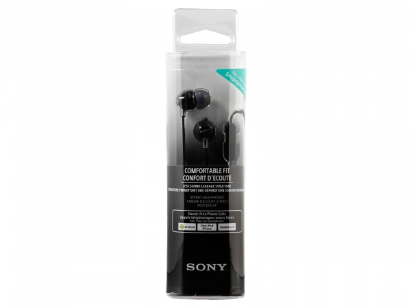 Sony In Ear Smartphone Earphones With Silicon Earbuds (MDREX15APBCE7)