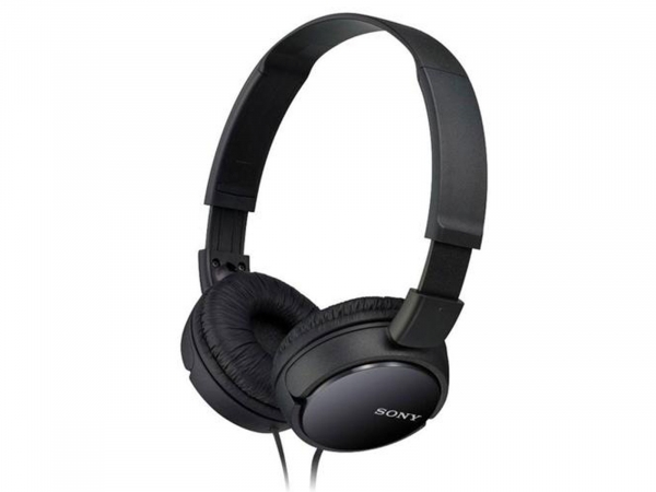 Sony Supra-Aural Closed-Ear Headphones and Padded Earcups (MDRZX110BAE)