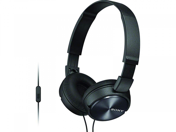 Sony Compact & Foldable With Coloured Ear Cups With Built In Smartphone Controls (MDRZX310APBCE7)