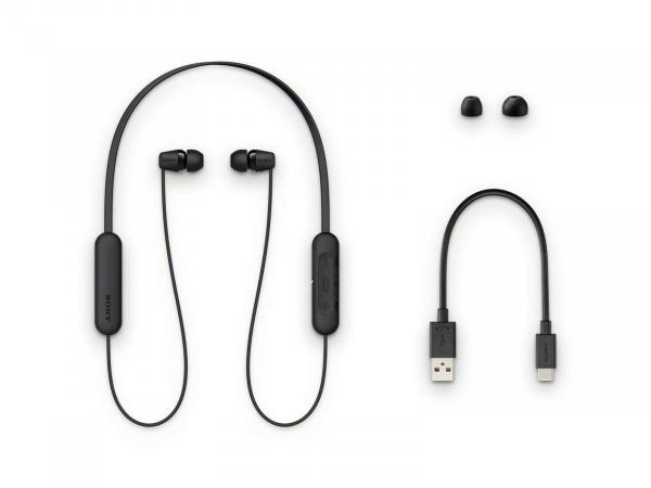 Sony WIC200BCE7 Sony Wireless In-ear Headphones Black