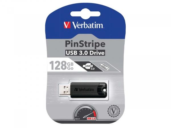 VERBATIM PinStripe 128GB USB 3.0